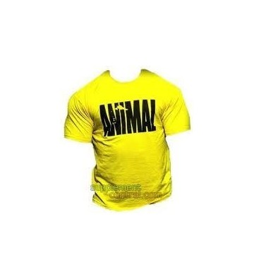 Animal T-Shirt Gialla