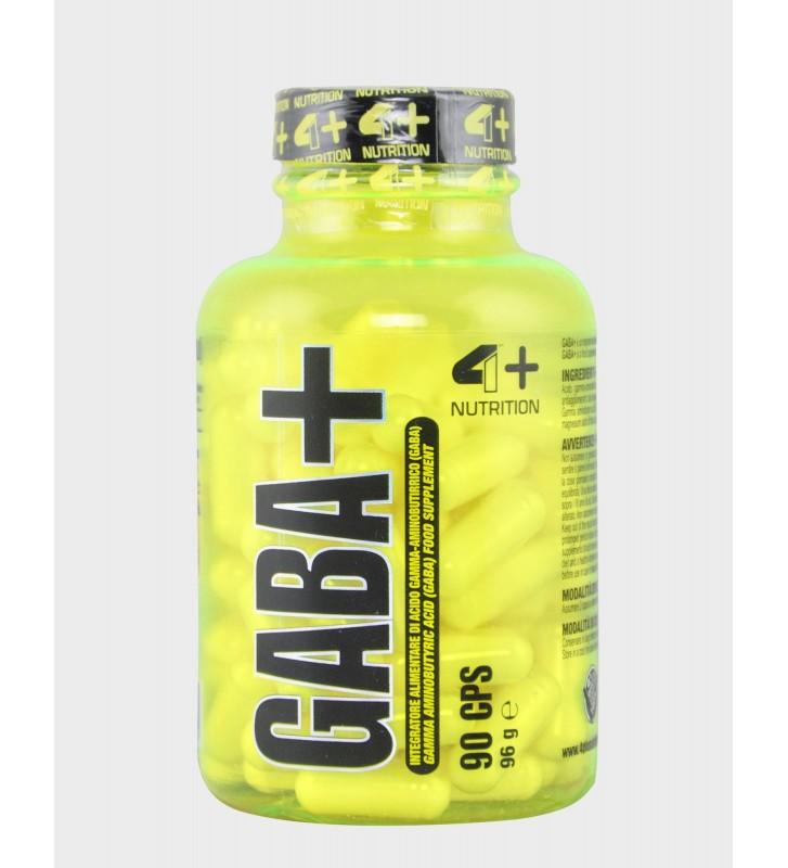 4+ Nutrition Gaba 90Cps