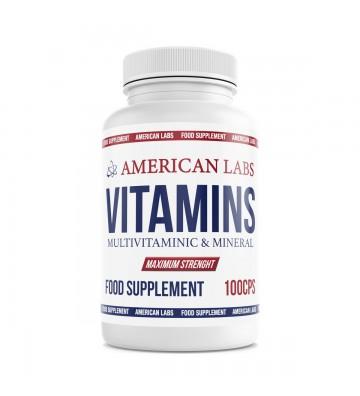 American Labs Vitamins 100cps