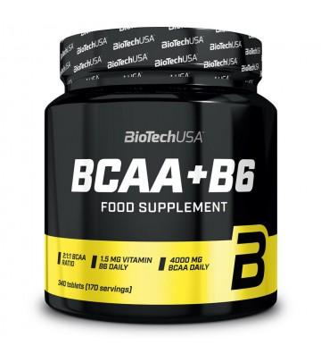 Biotech Usa Bcaa+B6 340cpr