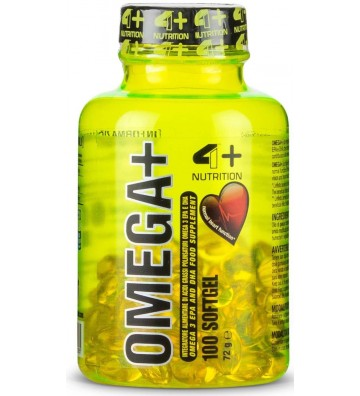 4+ Nutrition Omega-3 + -...