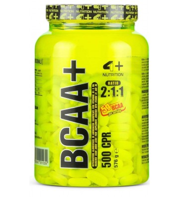 4+ Nutrition Bcaa+ 500cpr
