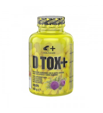 4+ Nutrition Her D-Tox+ 60cps