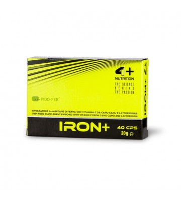 4+ Nutrition Iron+ 40cps