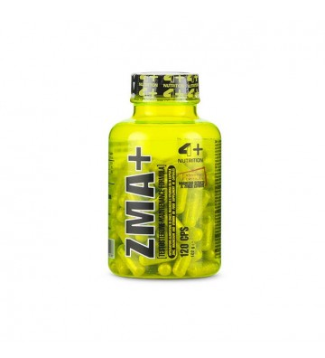 4+ Nutrition Zma+ 120cps