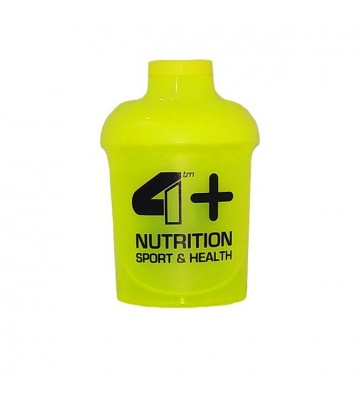 4+ Nutrition Shaker Giallo...