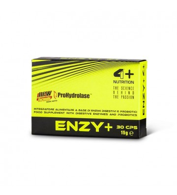 4+ Nutrition Enzy+ - 90 cps