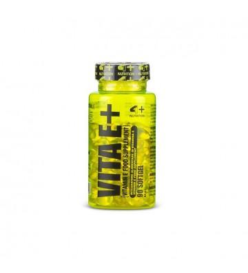 4+ Nutrition Vita E+ 90cps