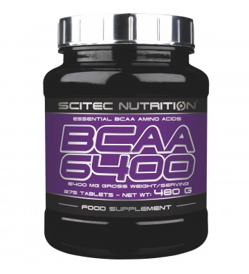 Scitec N. Bcaa 6400 - 125 cps