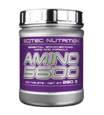 Scitec N. Amino 5600 - 200 cps