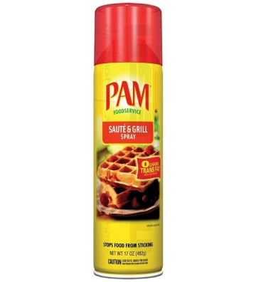 Pam Oil Spray Soutè Grill...