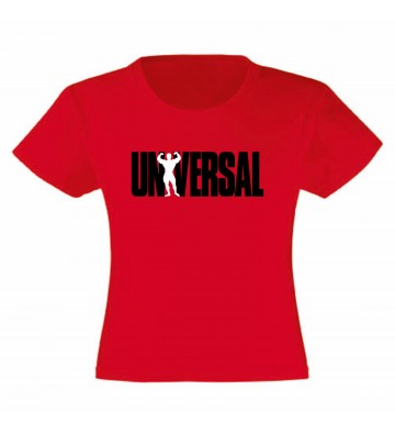 T-Shirt Universal Red Taglia L