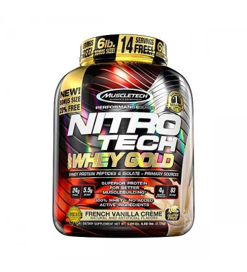 NitroTech Whey Gold 2,49Kg