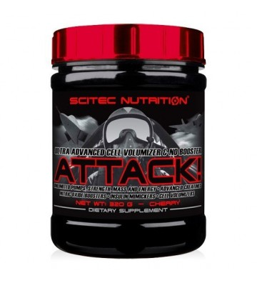Scitec N. Attack 2.0 - 320 gr