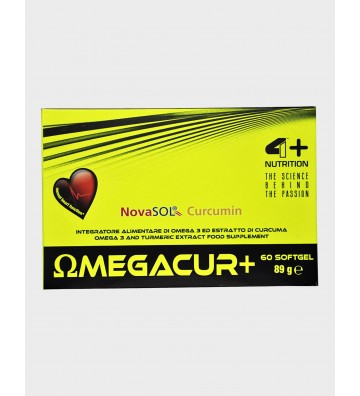 4+ Nutrition Omegacur+ 60cps