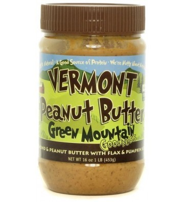 Vermont Peanut Butter & Mandorle - 430 gr